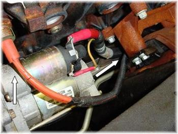 l block heater cord dts articles articles articles dts looking at the starter motor right you can easily locate the block heater element installed in the cylinder block just above you can easily access this